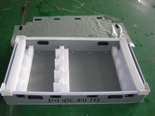 折叠式中空板周转箱2