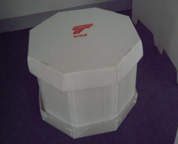 X型中空板八角箱